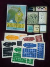 Vintage Collectible 1940's Board Game SHIPPING by Ahoy Series